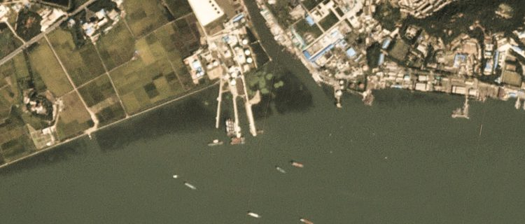 North Korea continues construction at Nampho oil terminal