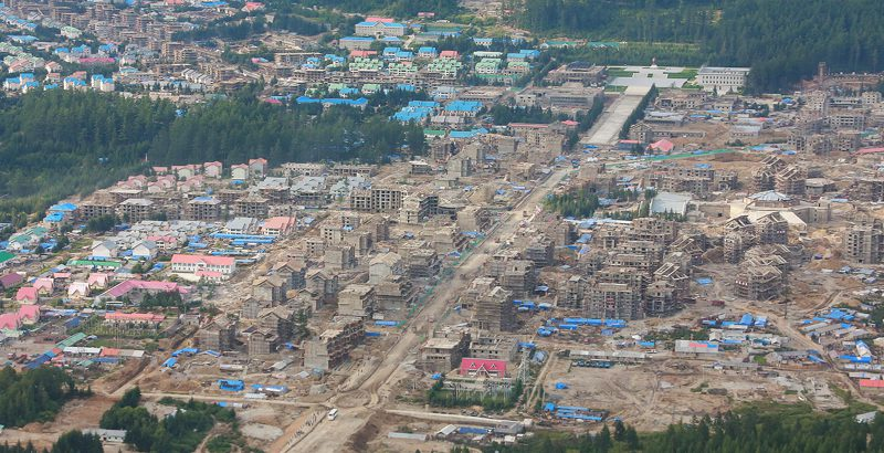 Rapid progress at Samjiyon construction project since summer, imagery reveals
