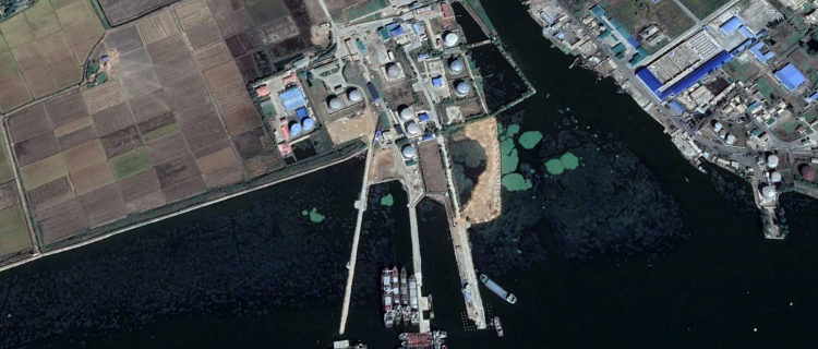 Traffic, construction continues at controversial North Korean oil facility