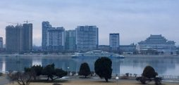 After delays, central Pyongyang apartment constructions show sign of progress