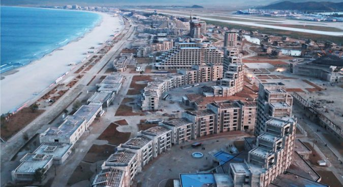 Wonsan-Kalma tourist zone sees rapid progress, new construction: imagery