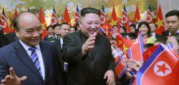 Kim Jong Un's appearances in February: