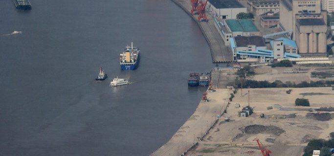 Sanctioned North Korea coal smuggler heads towards China