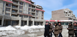 Despite leader's claims, images show scant progress at Samjiyon over the winter