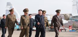 Kim Jong Un's April appearances: ste