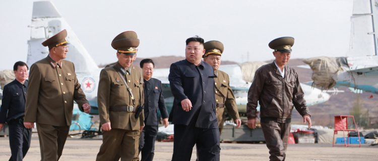 Kim Jong Un's April appearances: stepping-up economic, military activities