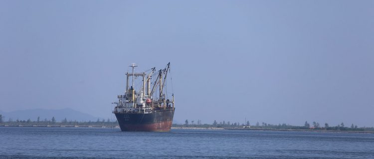 Satellite imagery, vessel tracking shows DPRK vessel moving between bulk ports
