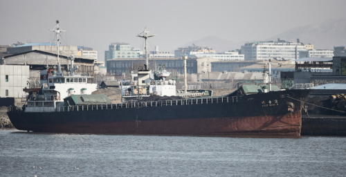North Korean ships visit Chinese coal and iron ports, possibly for illegal sales