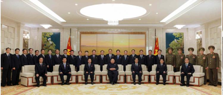 Top brass: North Korea's Political Bureau leadership, in full