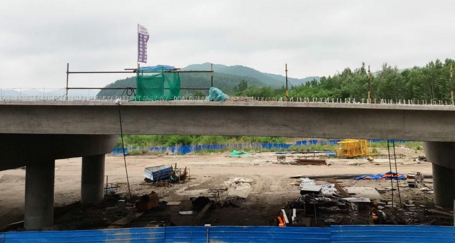 Chinese state railway corp nears completion of new Sino-DPRK cross-border bridge