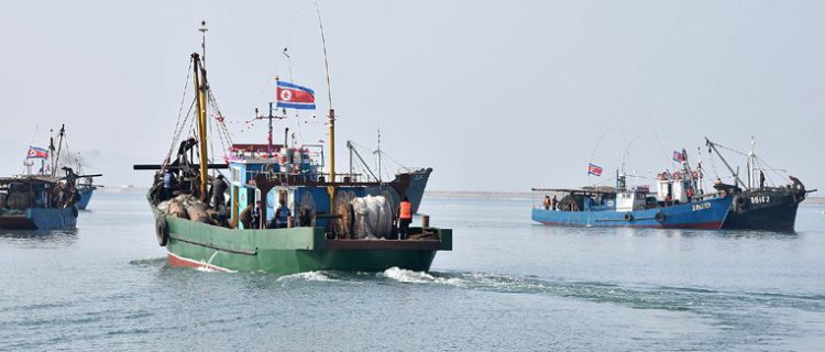Updated imagery shows abrupt turnaround in trade at North Korean port