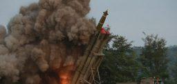North Korea's new Multiple Launch Rock