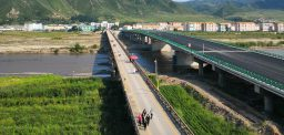 New Sino-DPRK cross-border road bridge