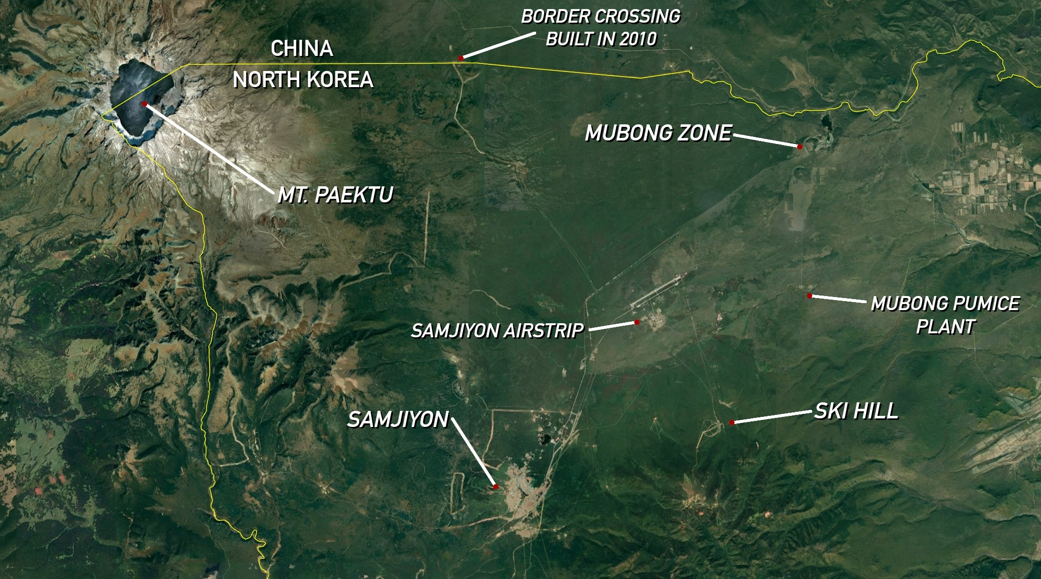 samjiyong area mubong map.'