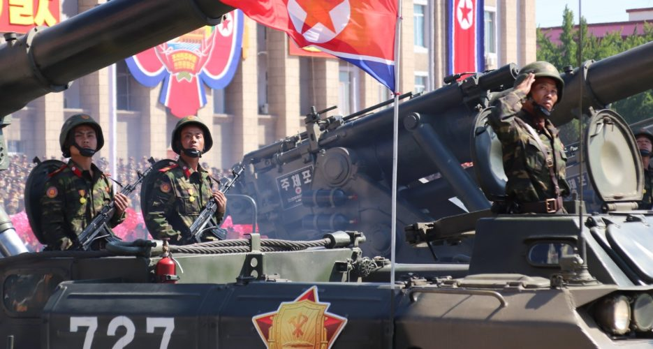 Signs of major upcoming military parade appear at North Korean training grounds
