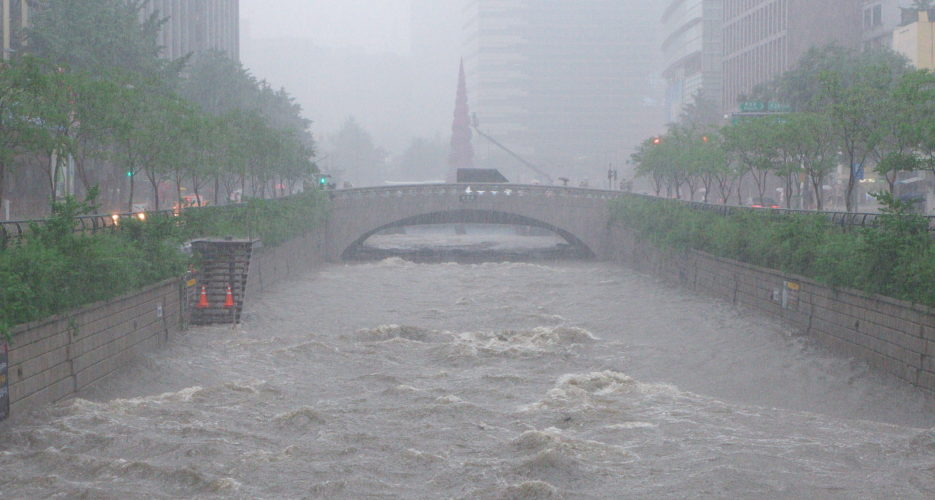 Why heavy rain and border water pose a chronic political risk for South Korea