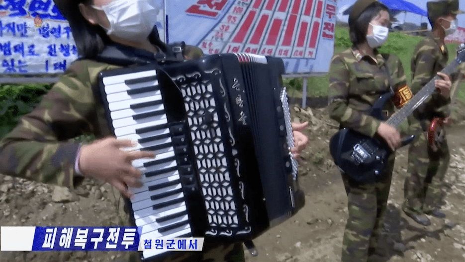Accordions and chairs? North Korea's July exports to Russia hit an all-year high