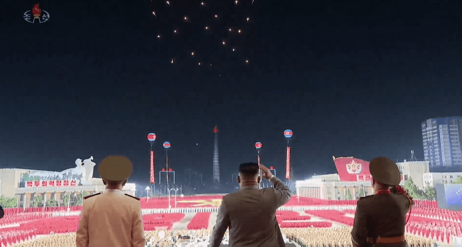 Timeline: From the military parade to Kim Jong Un's letter to Trump