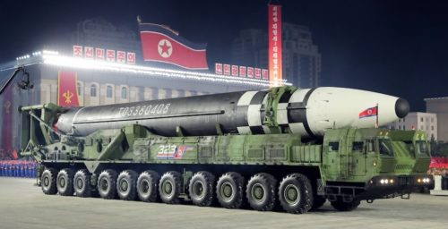 A titan among trucks: What North Korea's 'monster' Hwasong-16 TEL really means