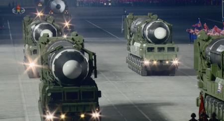 New photo reveals extra 'standby' ICBM at North Korea's military parade