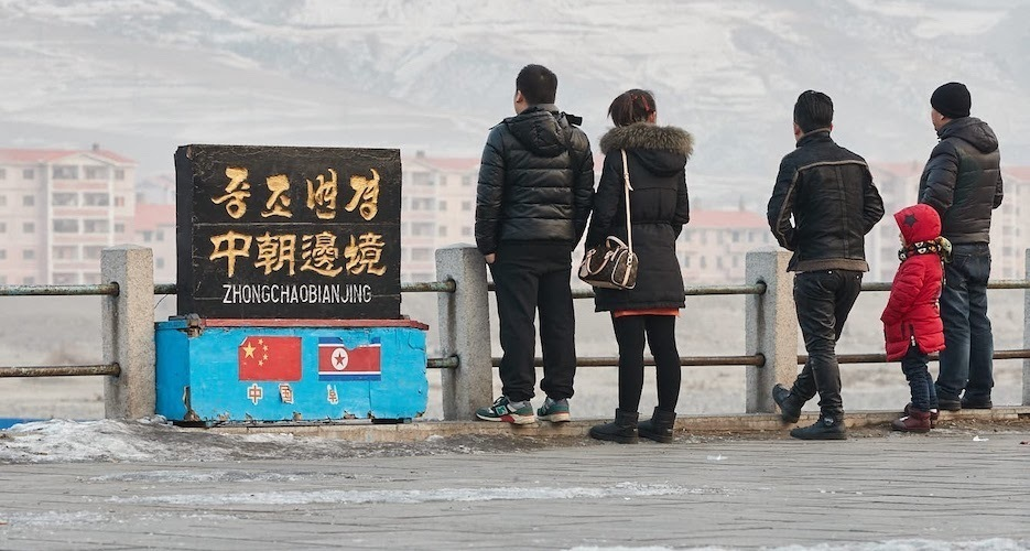 Trade between China and North Korea plummeted by 81% in 2020