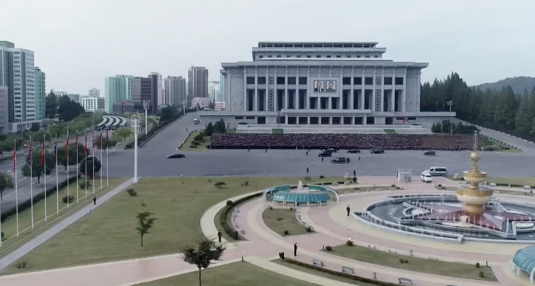 Packed parking lot suggests North Korean Party Congress is underway: Satellite
