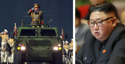 North Korea's latest parade shows that Kim is deadset on boosting weapons