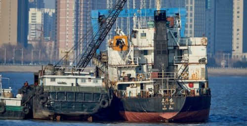 North Korea-linked tankers see increased activity in May