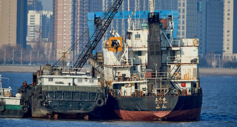 North Korea is boldly flouting sanctions with ships full of illegal fuel