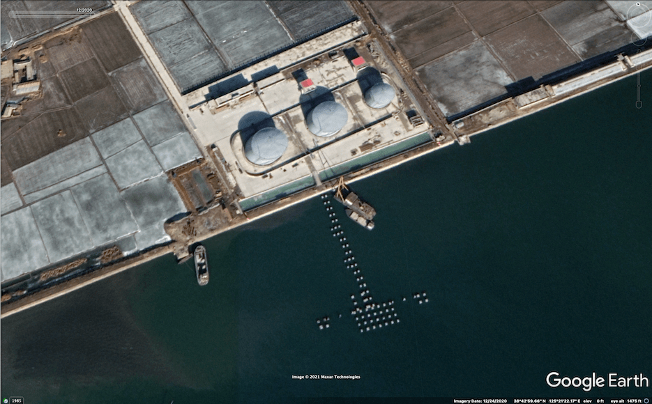 North Korea moves to complete new oil terminal despite UN cap on fuel imports