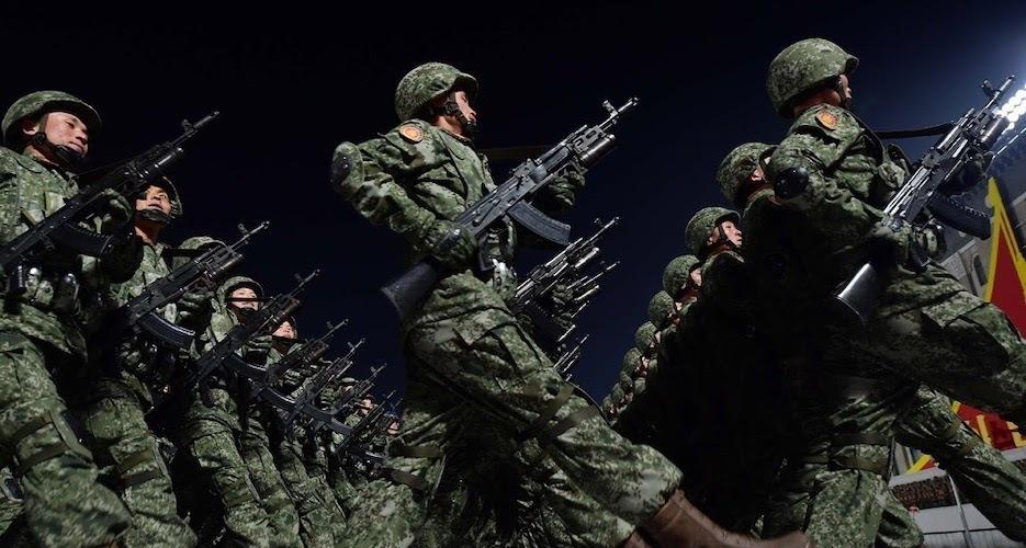 Now you see me, now you don't: North Korea replicates South Korean camo designs