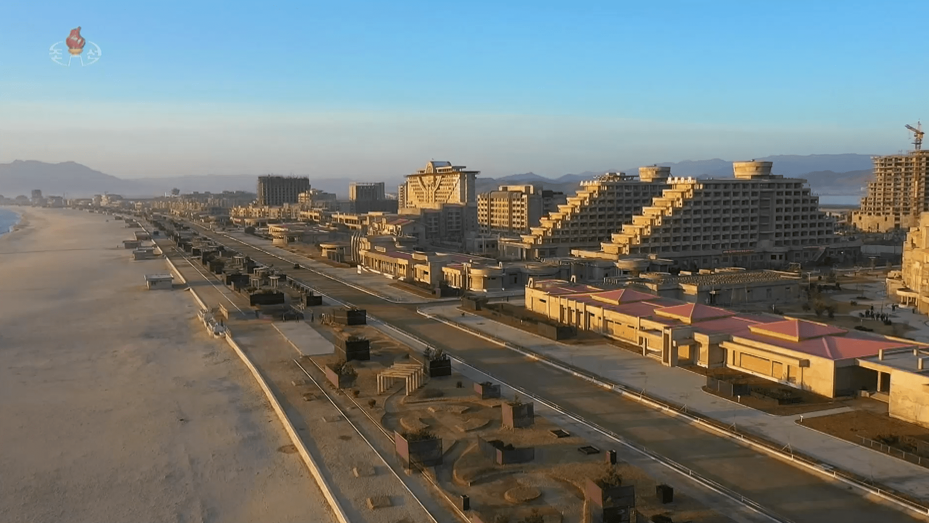 Two years past deadline, major North Korean beach resort inches towards opening