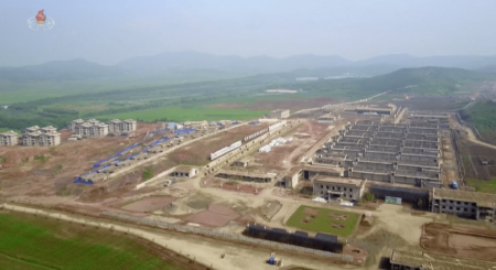 Sluggish progress on key construction despite rare visits by DPRK leader