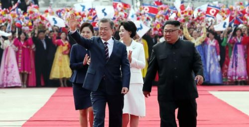 With only a year left, Moon pitches American public on his hope for peace