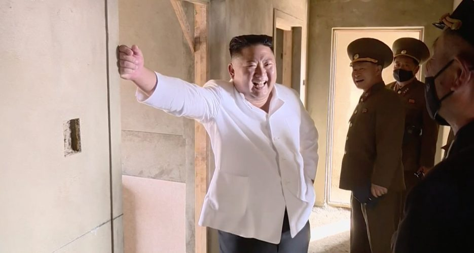 Kim Jong Un upgrades his private beachside manor and tends to leisure boats