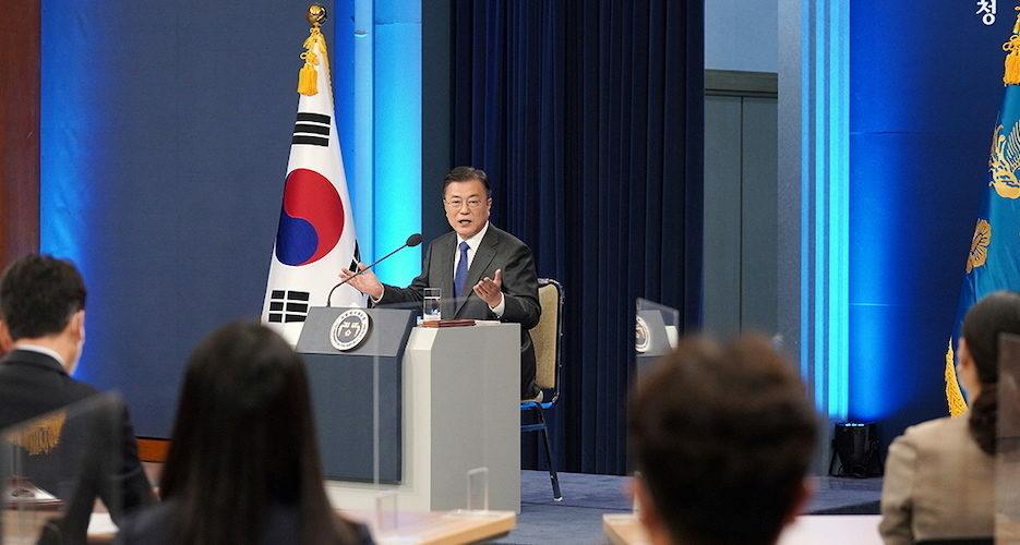 Full text: Speech marks South Korean President Moon's fourth year in office