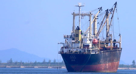 Junk vessel acquired by North Korea reappears at a rarely visited port
