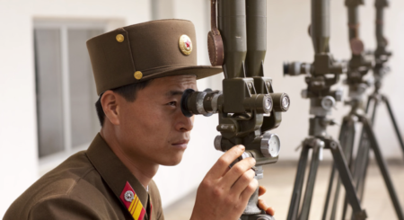 How intelligence agencies collect information on North Korea