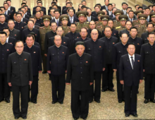 Changes to North Korea's military leadership on display during mausoleum visit