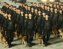 Recap: All the guns, troops and spectacle at North Korea's paramilitary parade