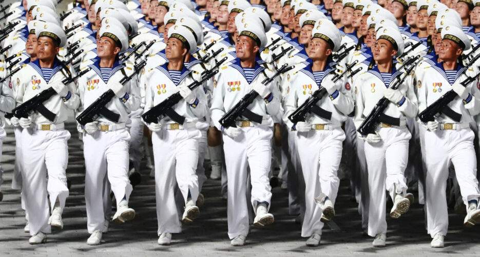 North Korea preparing to hold military parade in coming months: imagery
