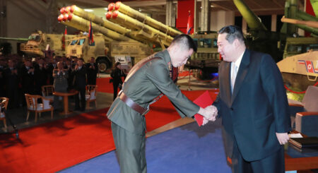 New missiles and Kim Jong Un idolatry dominate 'Self-Defense-2021' expo