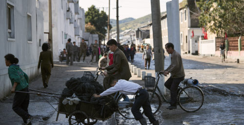 Why Economic Crisis Is a Benefit to the North Korean Regime
