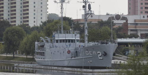 USS Pueblo Disappears from Pyongyang