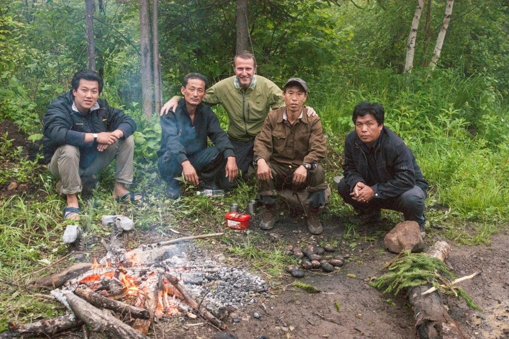 Camping out under Duryusan 2309m Yanggangdo