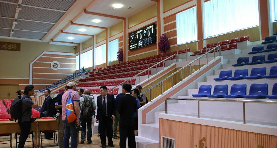 Kim Jong Un Watches Basketball Game With Dennis Rodman