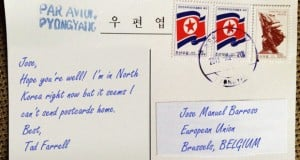 "Tourists in North Korea Unable To Send Postcards Home Due To ""Sanctions"""