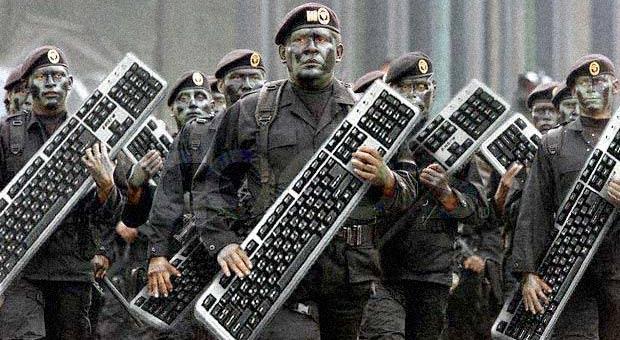 السيبرانية خطر القرن ٢١  Keyboard-warriors-cyber-attack-korea1