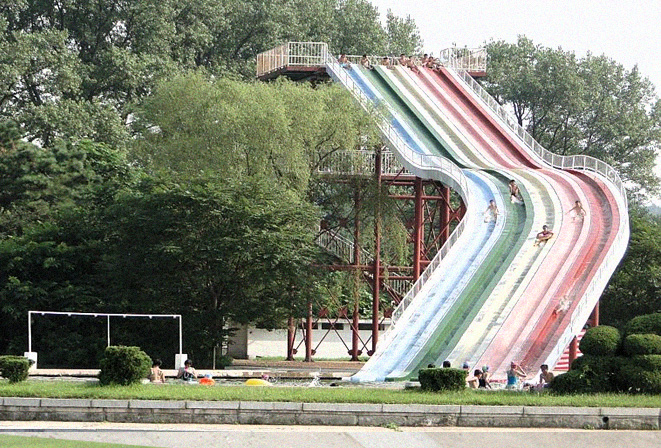 water-slides-at-songdowon