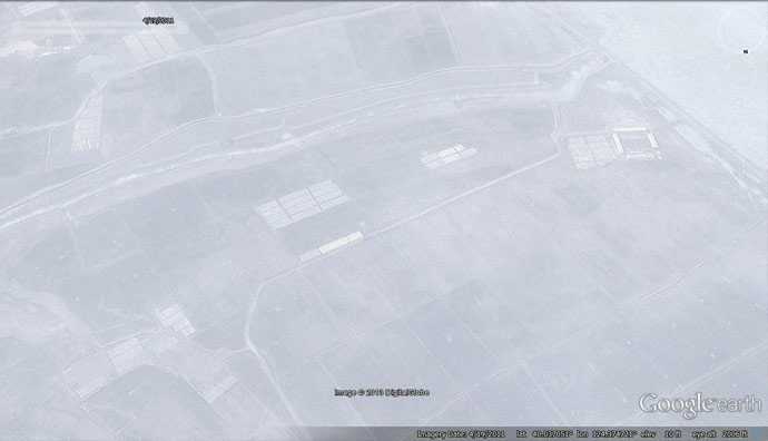 Historial satellite imagery showing North Korean side prior to development. (Photo: Google Earth)